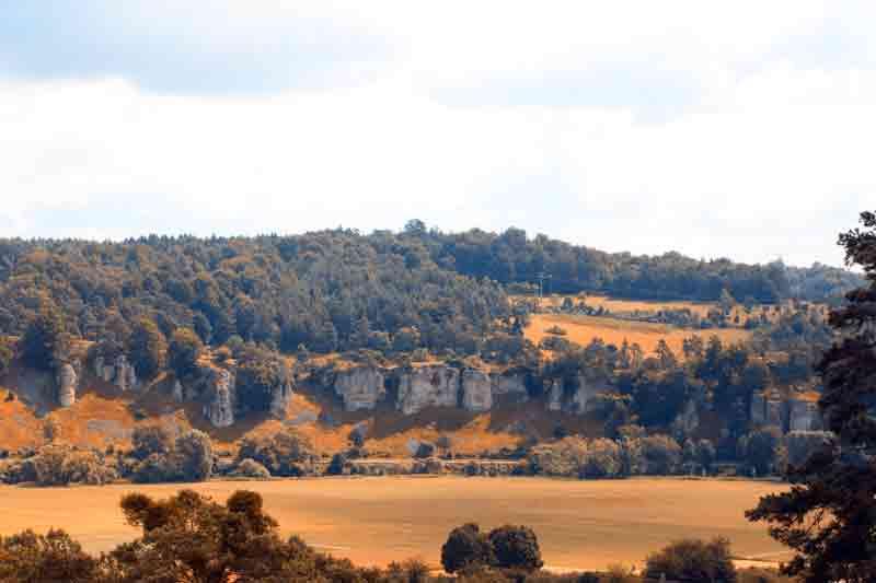 Landschaft Altmühltal